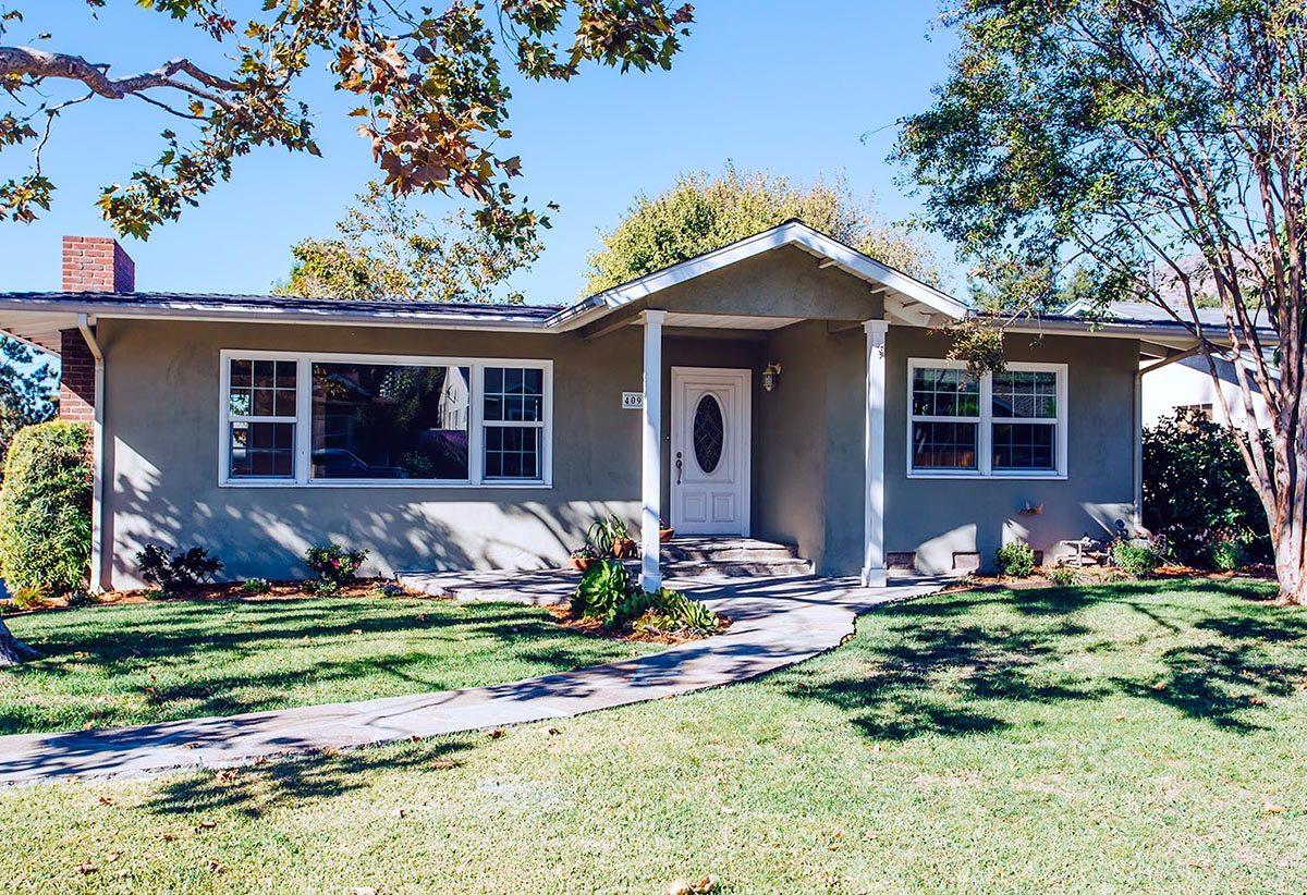 Front of House - 409 N Washington Ave Glendora 91741