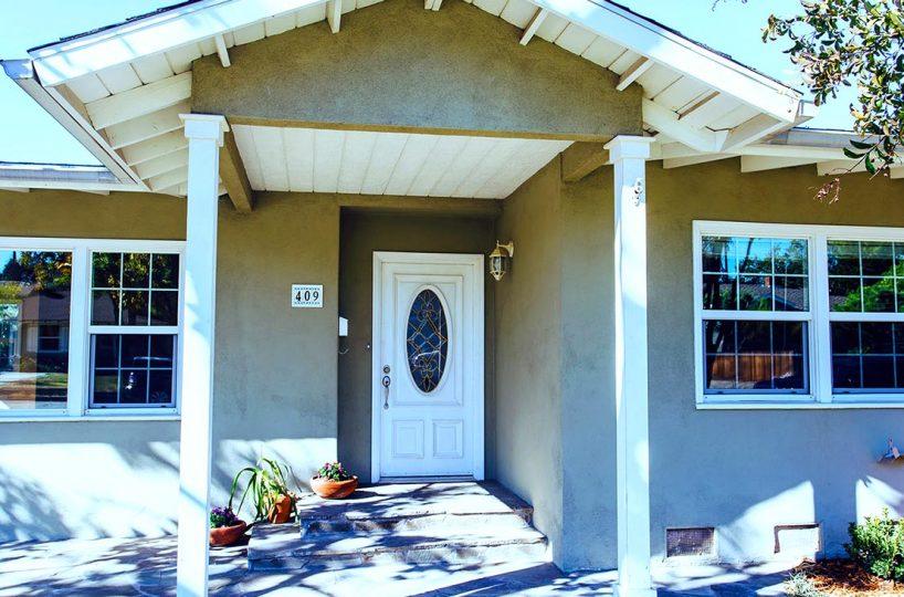 Front Entryway - 409 North Washington Avenue Glendora 91741