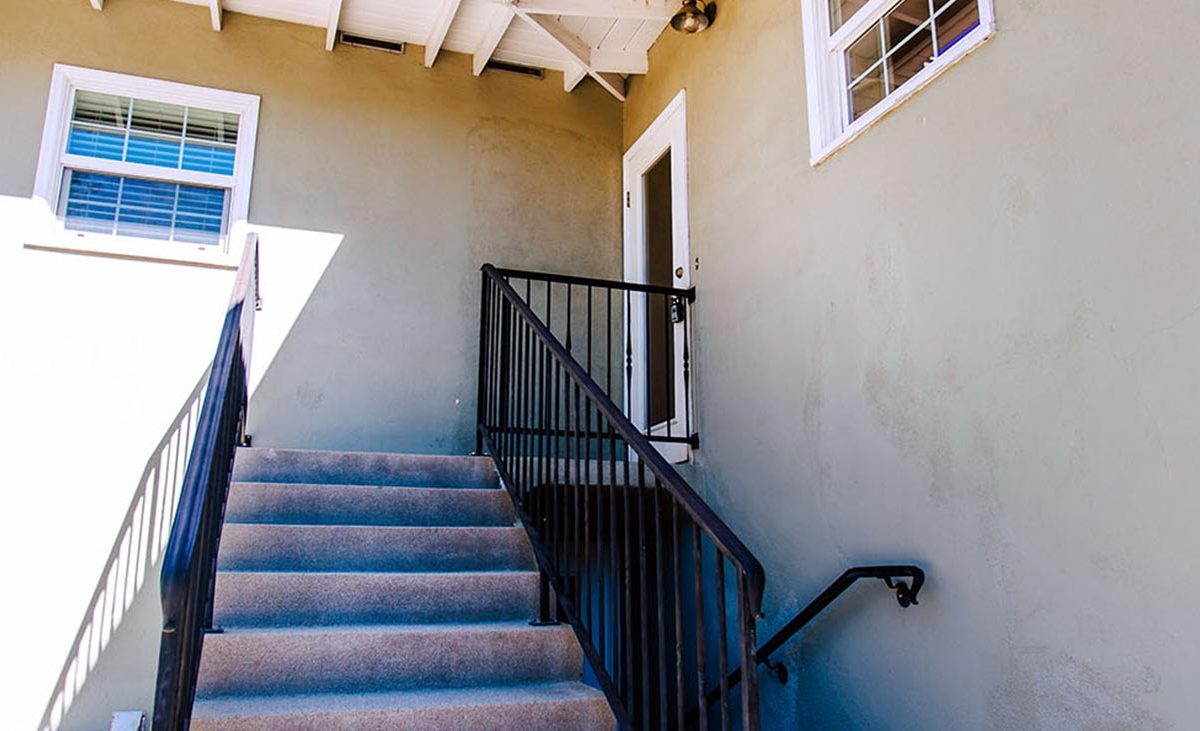 Back Stairs - 409 North Washington Avenue Glendora 91741