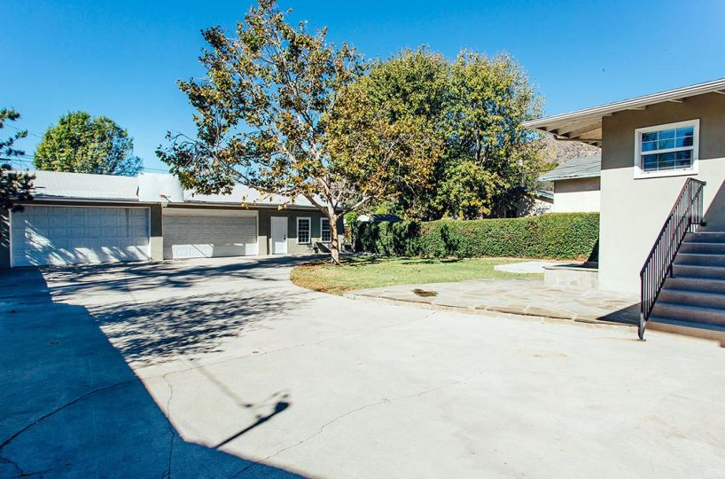 Driveway and Garage - /409 North Washington Avenue Glendora 91741