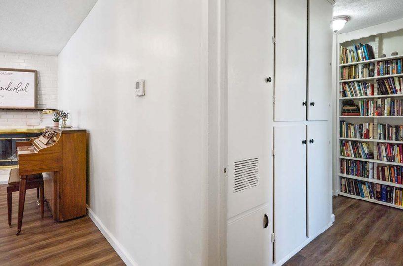 Hallway built-in storage