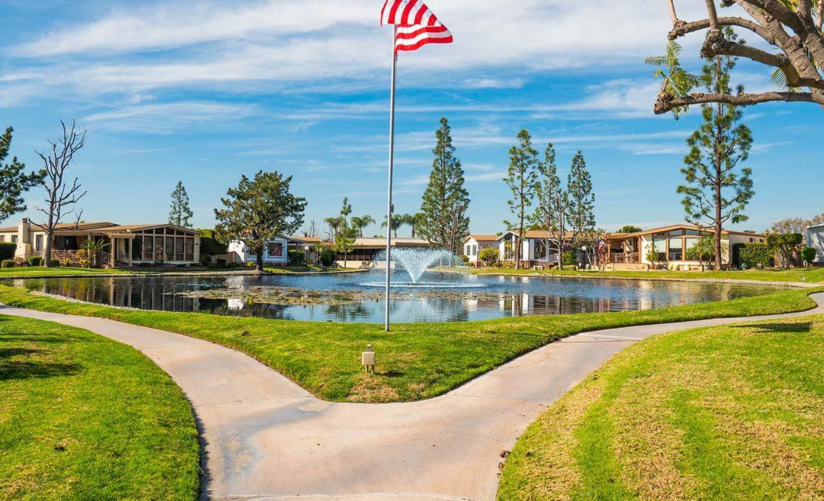 1342 Silver Lake Place Brea, CA 92821 Pond