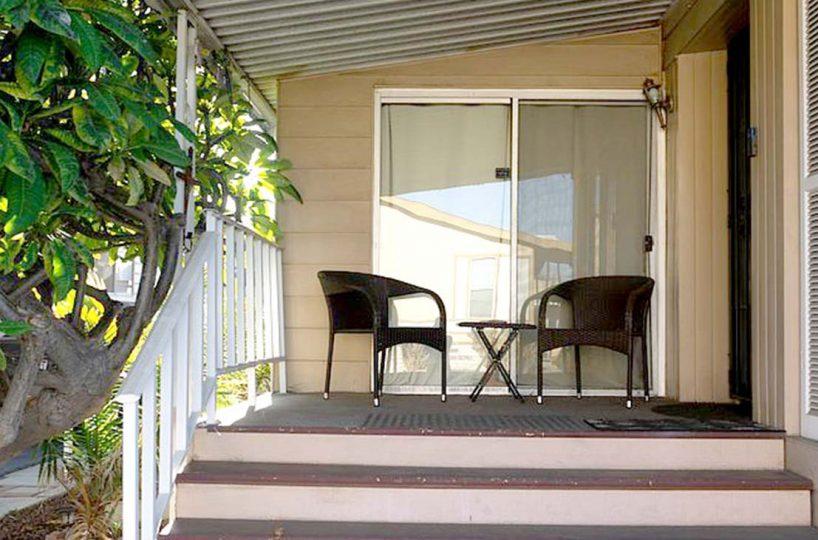 300 N Rampart Street Unit No. 123 Orange, CA 92868 Porch