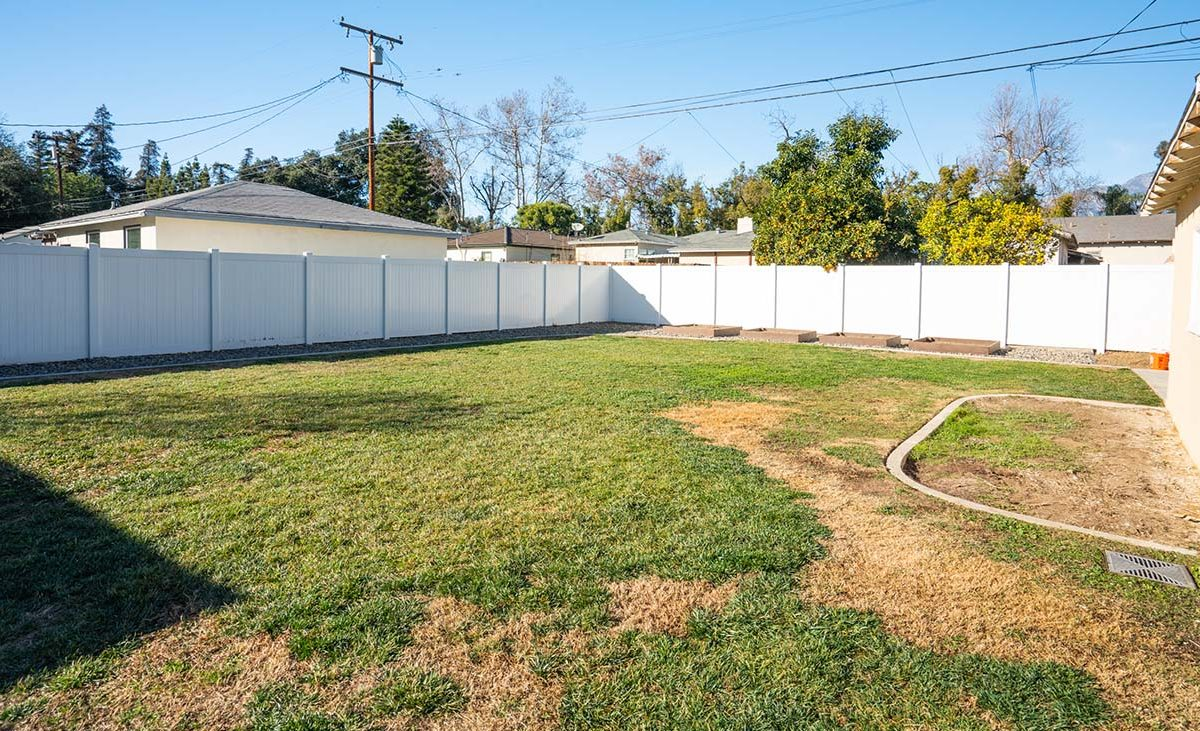 541 E Harvard Place Ontario, CA 91764 Backyard