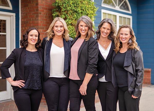 Purpose Life Homes Team - Lisa Skatvold, Adri Douma, Sarah Dykema, Carmen Dykema and Shelley Ingram